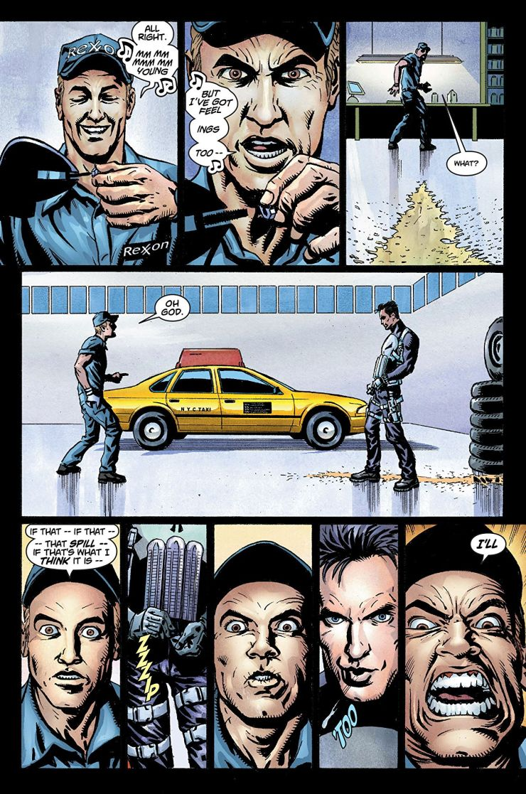 Marvel Knights Punisher: Taxi Wars Review