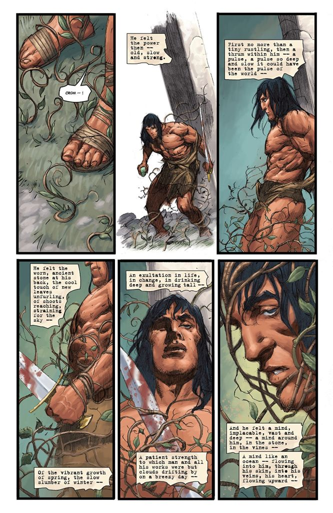 Conan Chronicles Epic Collection: 'Out of the Darksome Hills' Review