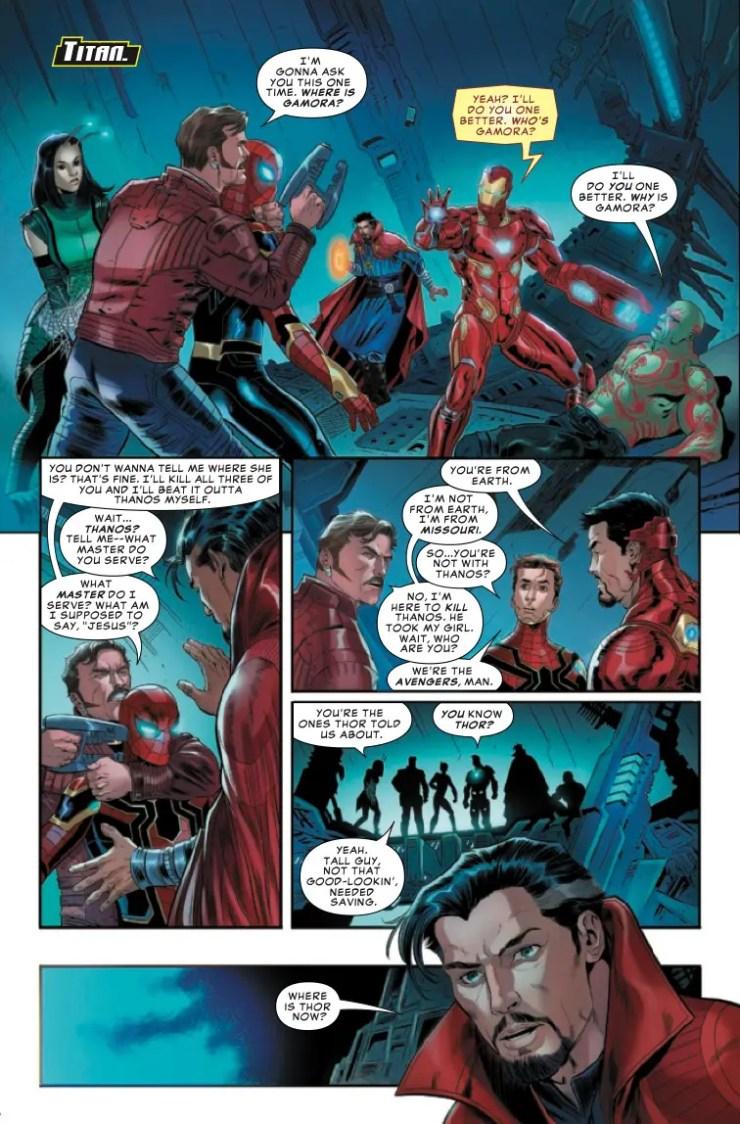 Marvel Preview: Avengers: Endgame Prelude #3