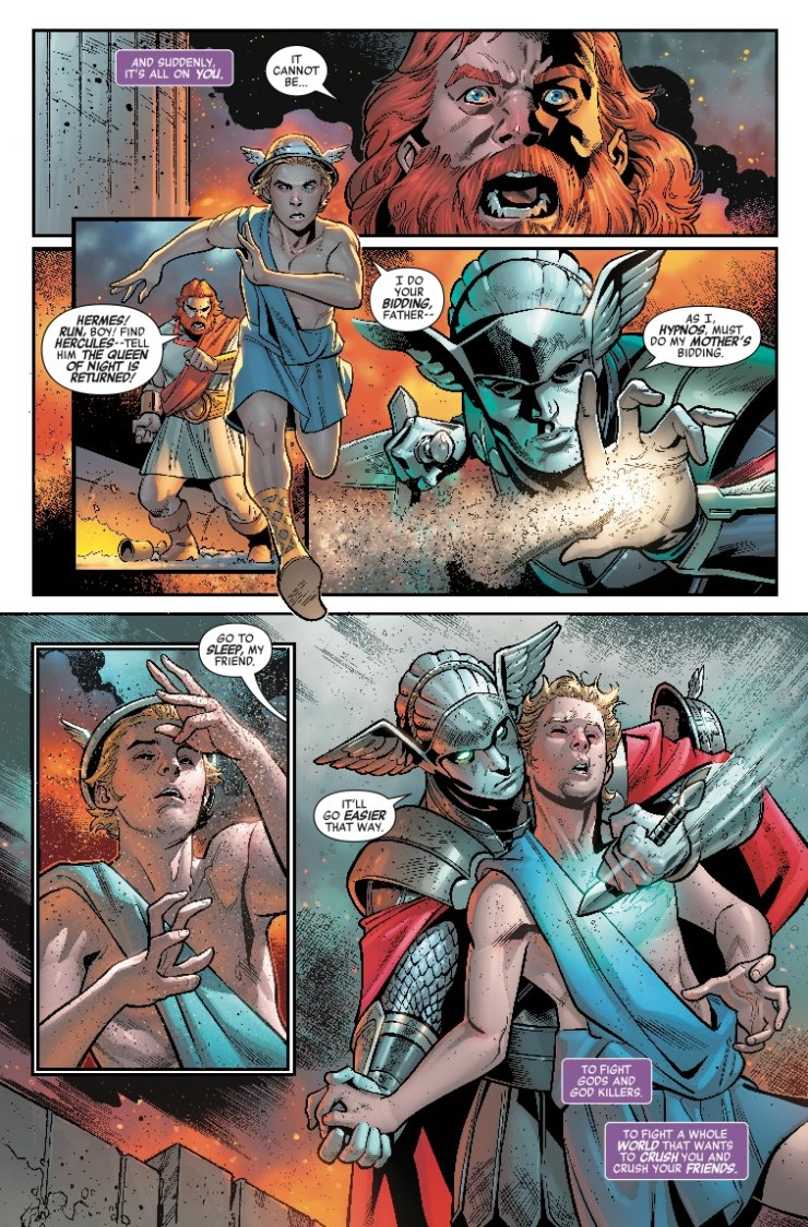 Marvel Preview: Avengers: No Road Home #2