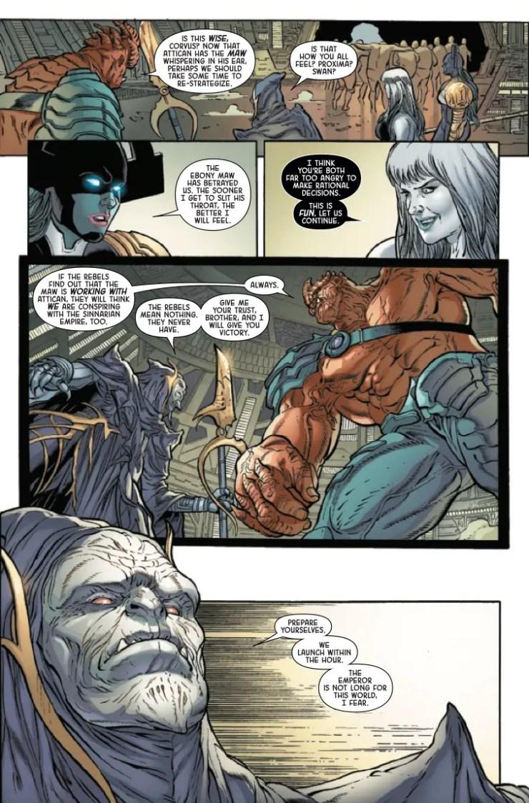 Marvel Preview: The Black Order #5
