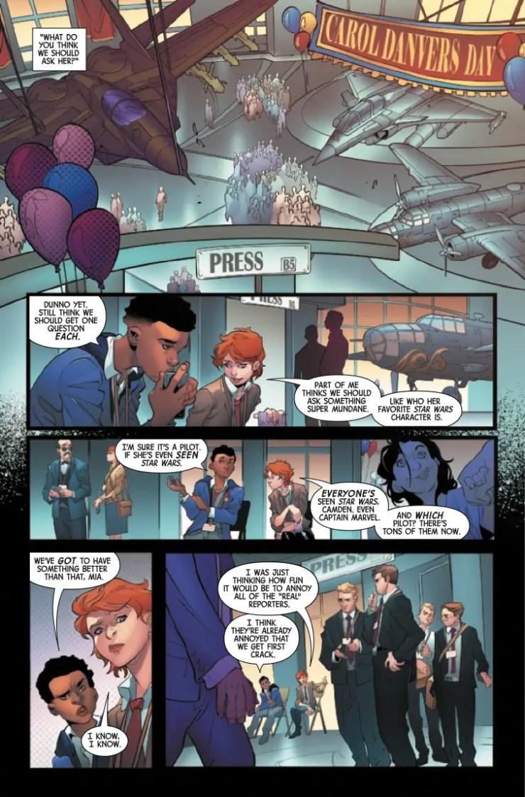 Marvel Preview: Captain Marvel: Braver & Mightier (2019) #1