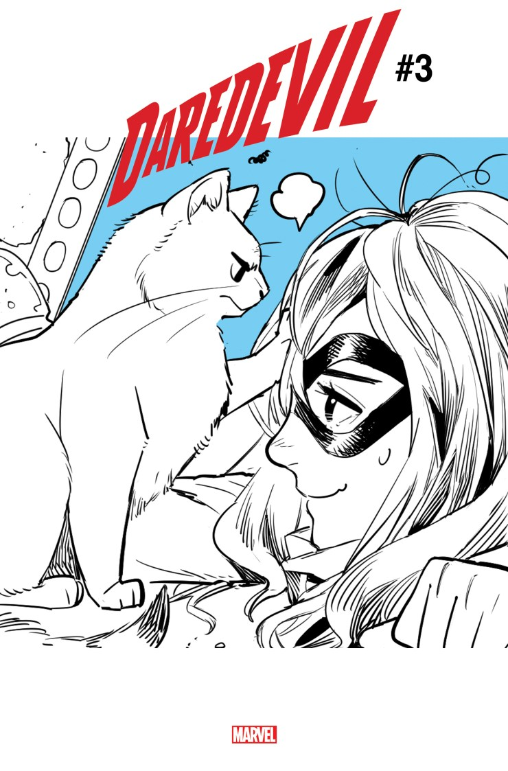 It's the cats meow at Marvel thanks to Captain Marvel's cat this March