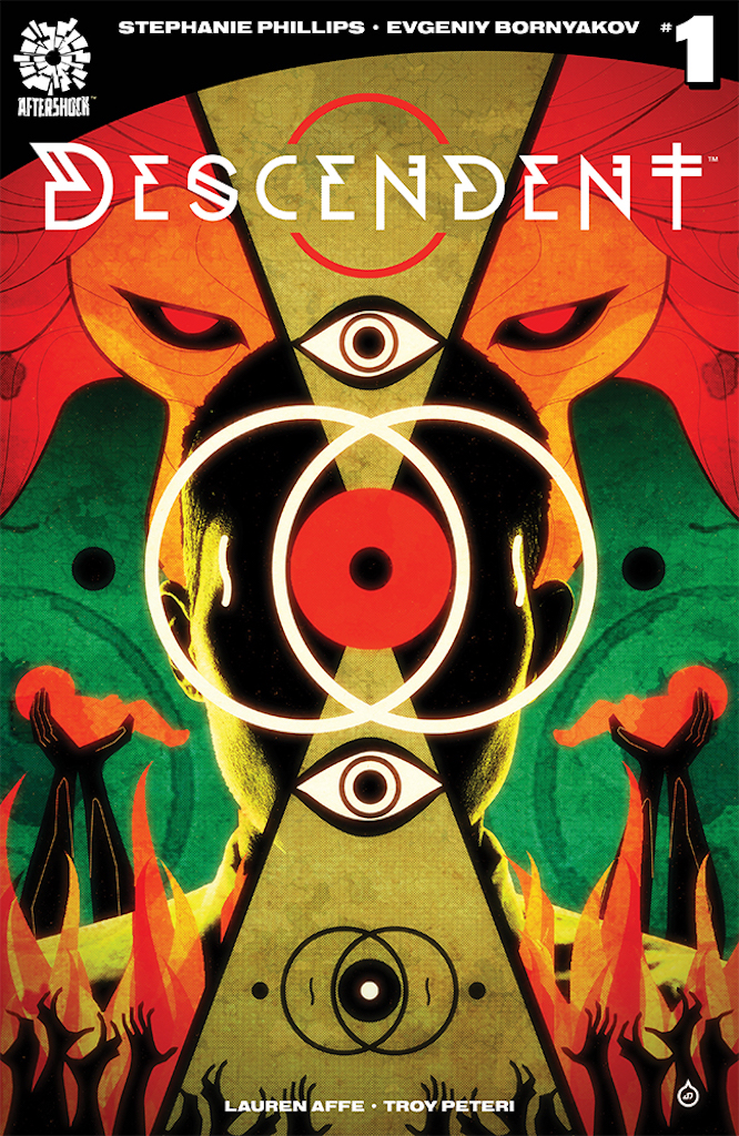 First Look: AfterShock Comics unveils Descendent May 2019