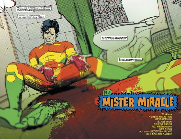 Fathers and sons: Jack Kirby, Mister Miracle, and our hopes for tomorrow