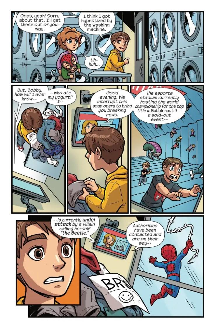 Marvel Preview: Marvel Super Hero Adventures: Spider-Man - Spider-Sense Of Adventure (2019) #1