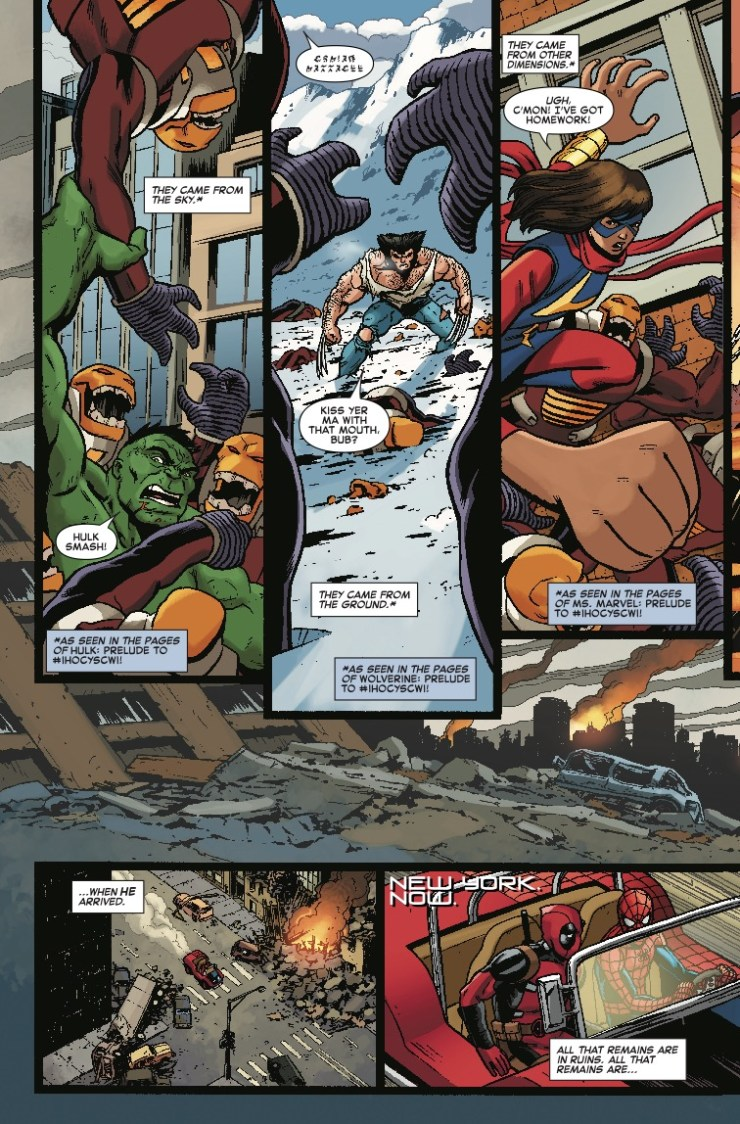 Marvel Preview: Spider-Man/Deadpool #46