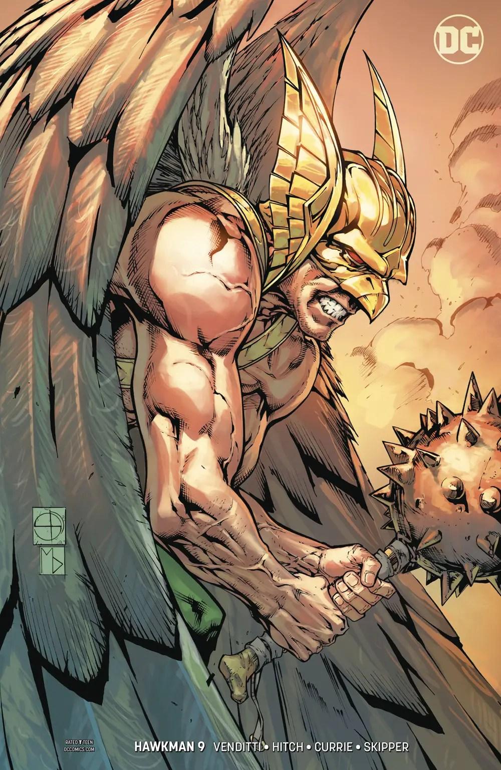 Hawkman #9 review: War Begins