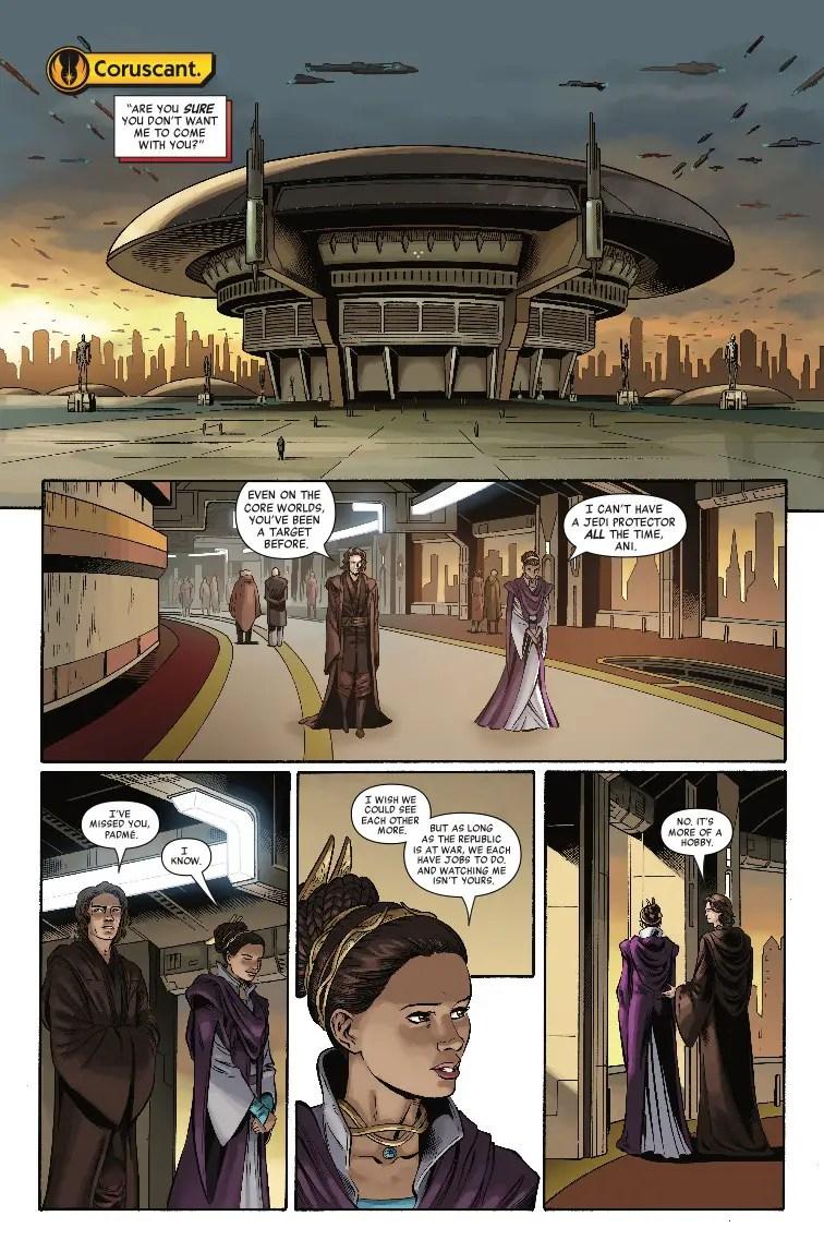 Star Wars: Age of Republic - Padme Amidala #1 Review