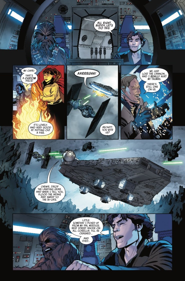 Marvel Preview: Solo: A Star Wars Story Adaptation #5