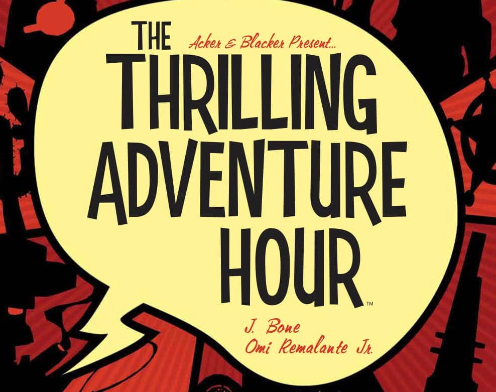 'The Thrilling Adventure Hour: Martian Manhunt' review: Shine up your robot fists