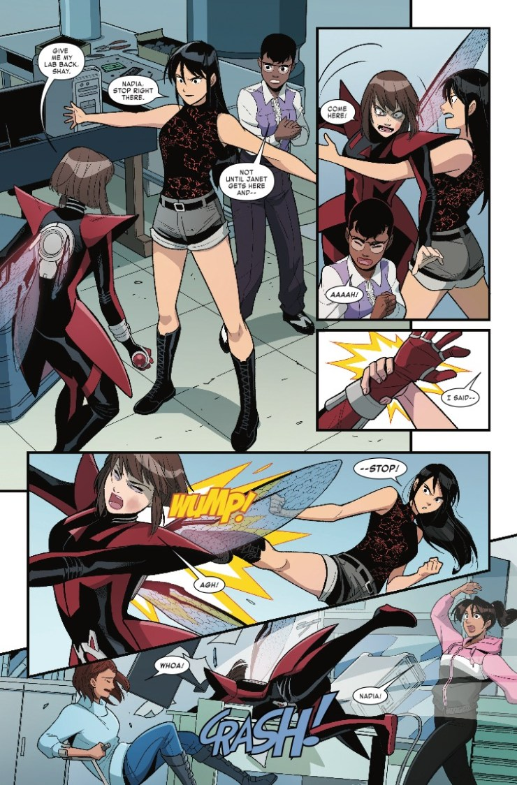 Marvel Preview: The Unstoppable Wasp #5