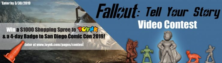 Contest Alert: Toynk's Fallout Video Contest