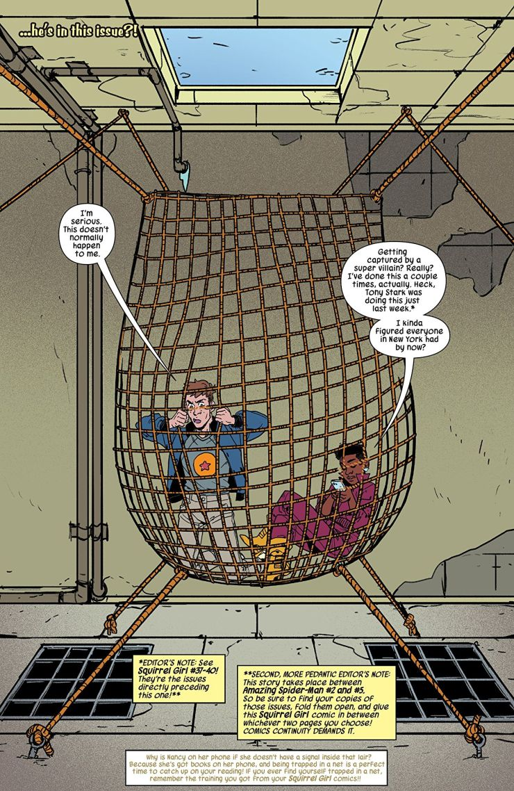 The Unbeatable Squirrel Girl #41 review: Puzzle me this...