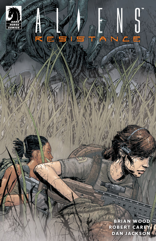 EXCLUSIVE Dark Horse Preview: Aliens Resistance #3