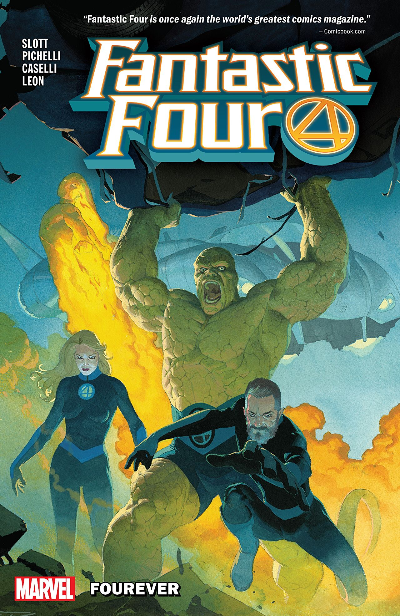 Fantastic Four by Dan Slott Vol. 1: Fourever Review