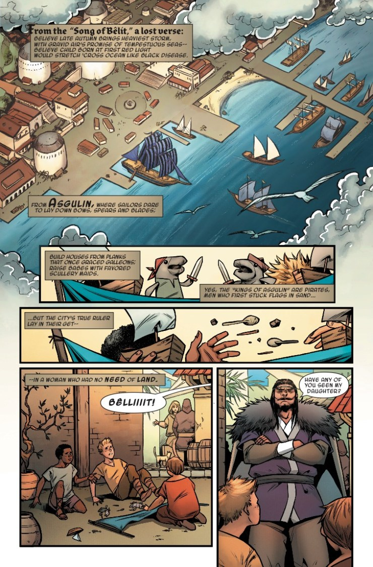 Marvel Preview: Age Of Conan: Bêlit #1