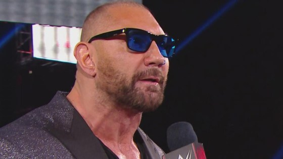 Batista will face Triple H at WrestleMania in his final match
