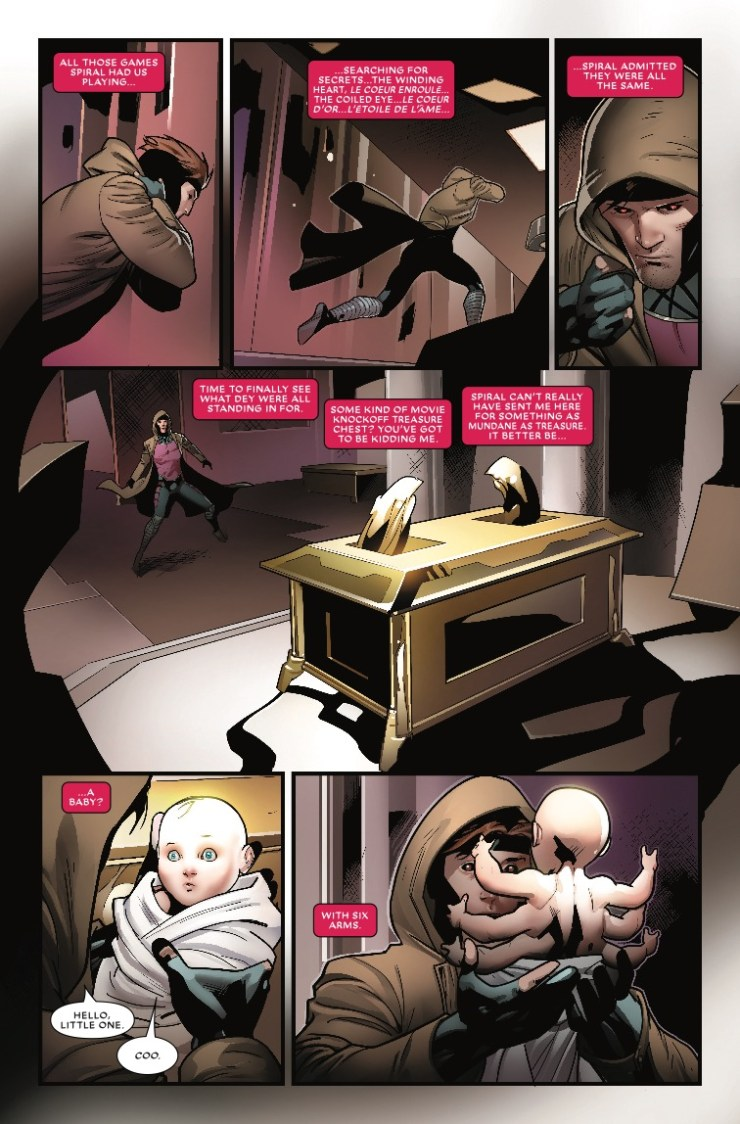 Marvel Preview: Mr. and Mrs. X #9