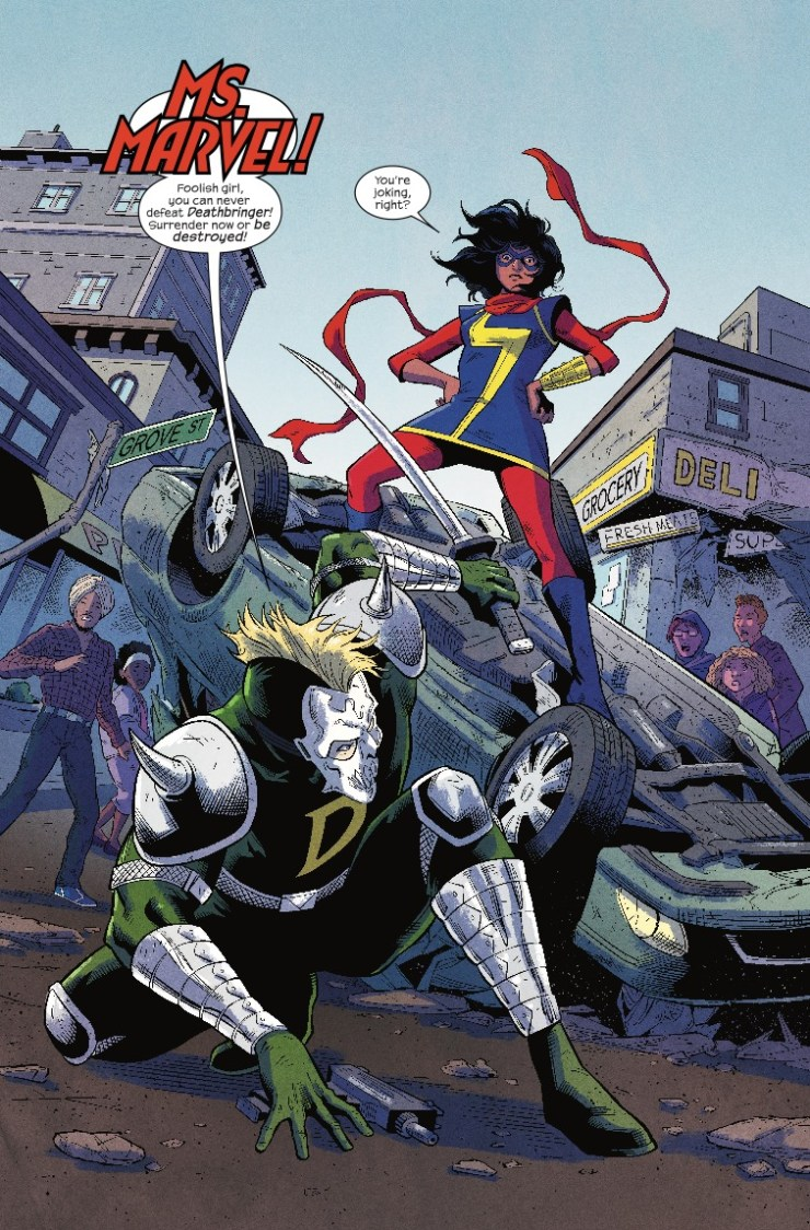 Magnificent Ms. Marvel #1 Review
