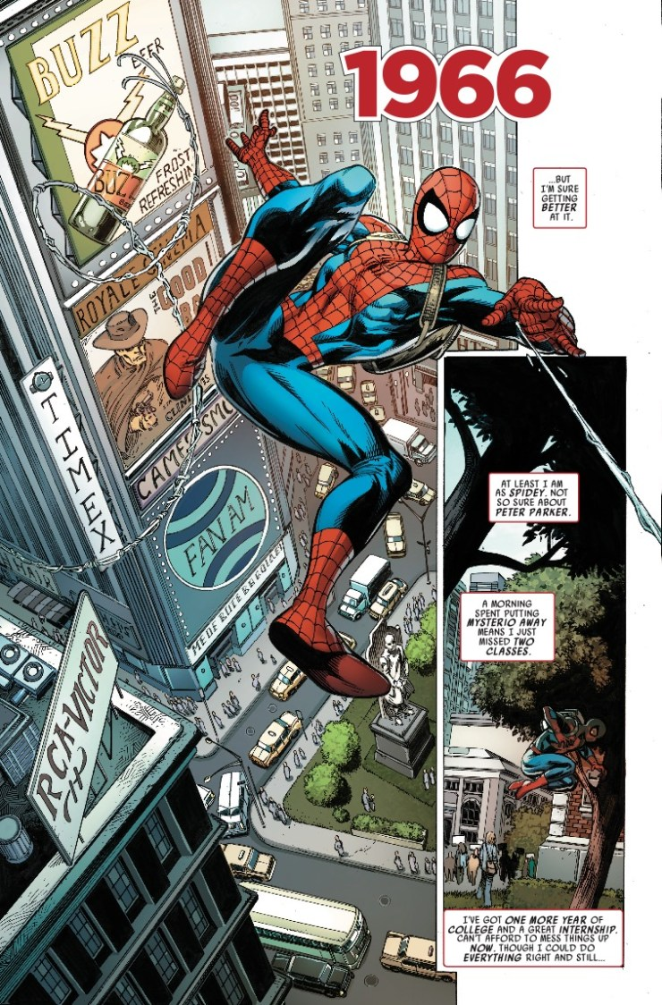 Spider-Man: Life Story #1 Review: A celebration of Spidey and the era of his creation