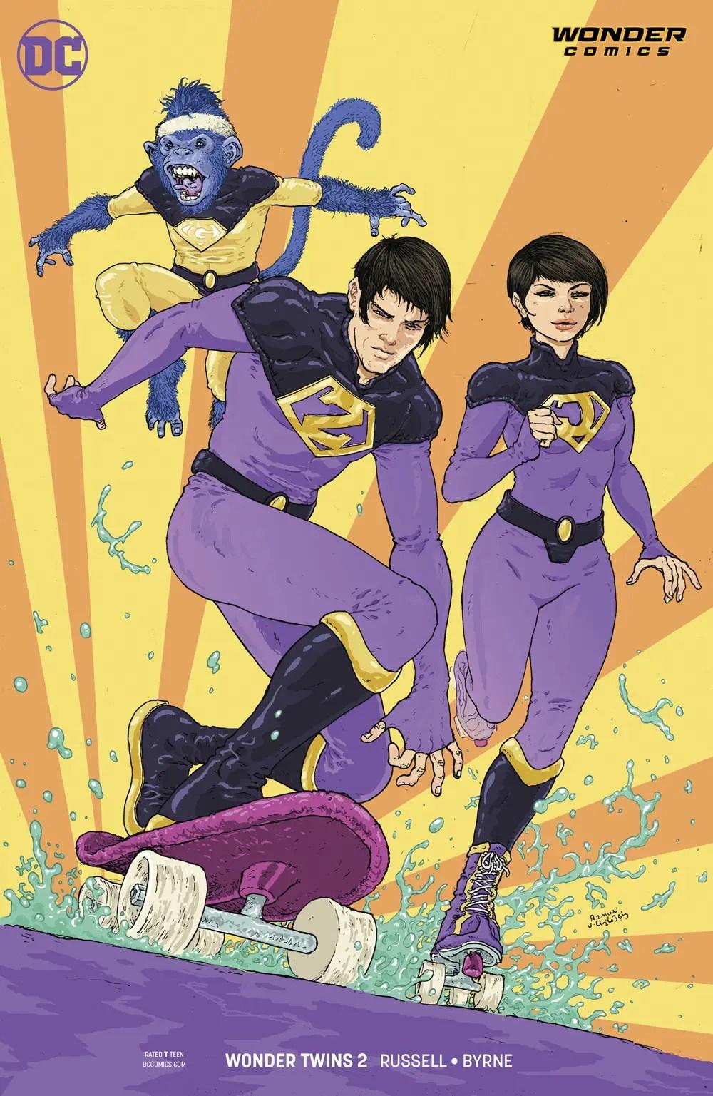 Wonder Twins #2 review: League of Annoyance!