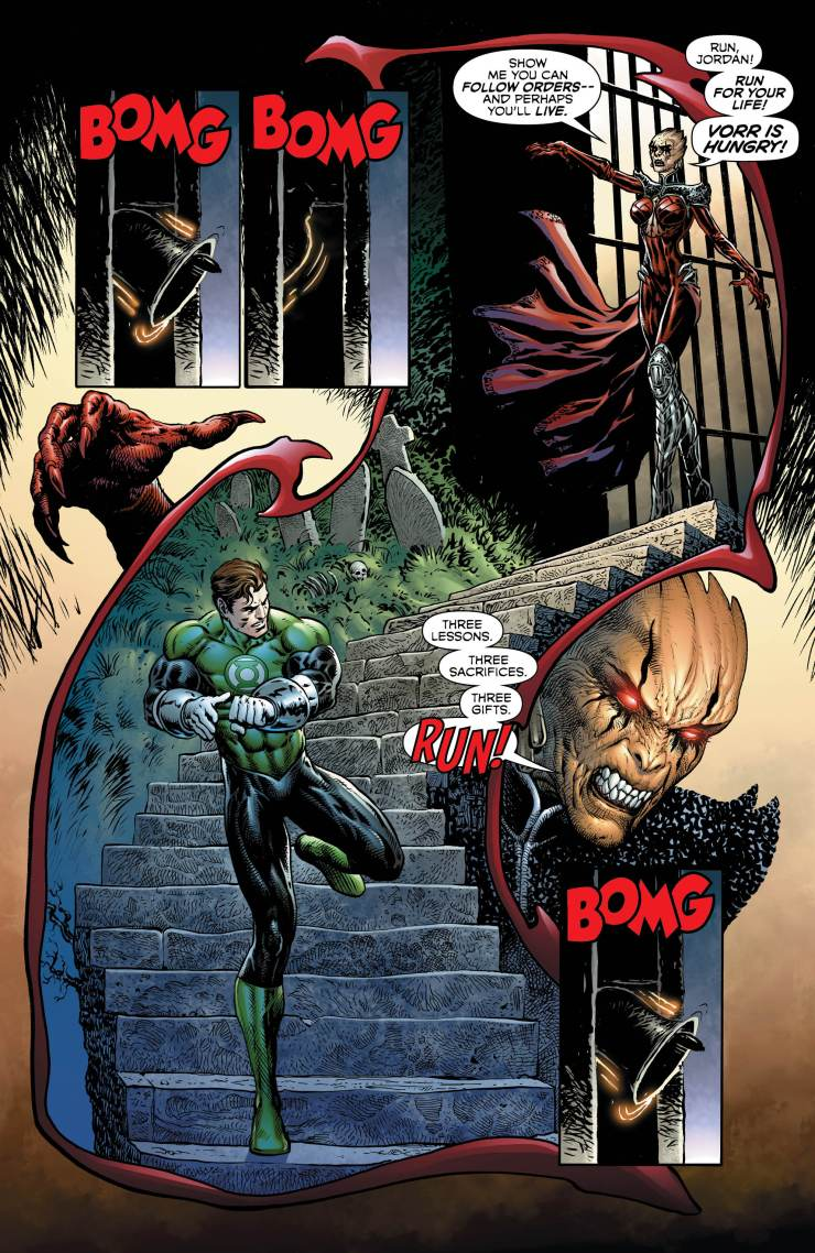 The Green Lantern #5 review: Vampire world of Vorr!