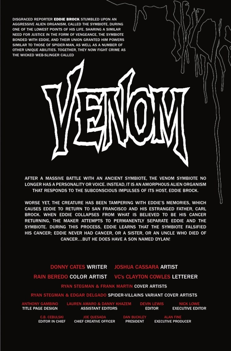 Marvel Preview: Venom #12