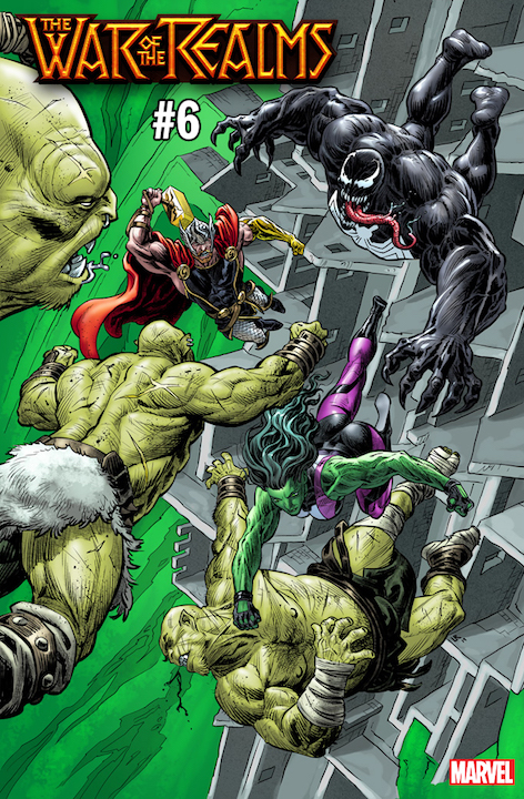 Marvel Comics reveals War of the Realms variant covers by international artists