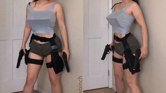 Tomb Raider: Original Lara Croft by Beebinch