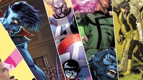 Seven Star Wars comics, Captain America Apocalypse, and more.