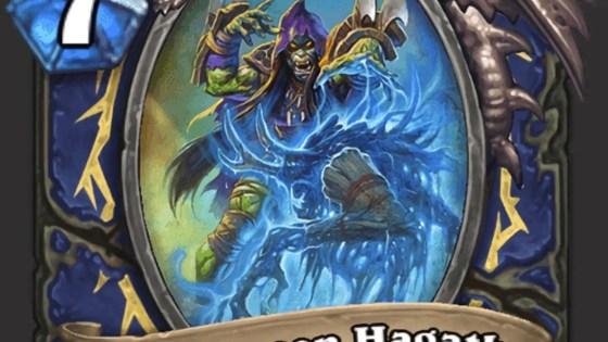Hearthstone: Rise of Shadows: Swampqueen Hagatha, new Shaman Legendary minion revealed