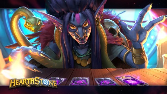 Hearthstone: The Fortune Teller teaser presages a team of evil 'plotters and schemers' in the next expansion