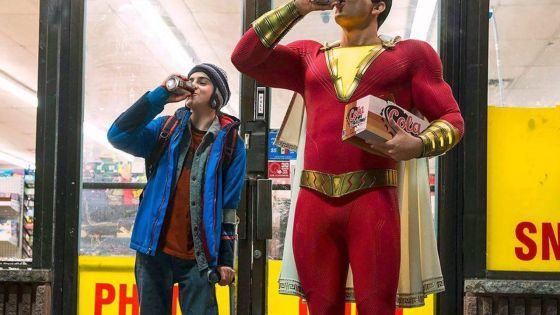 'Shazam!' seems to be a different direction for the DCEU.