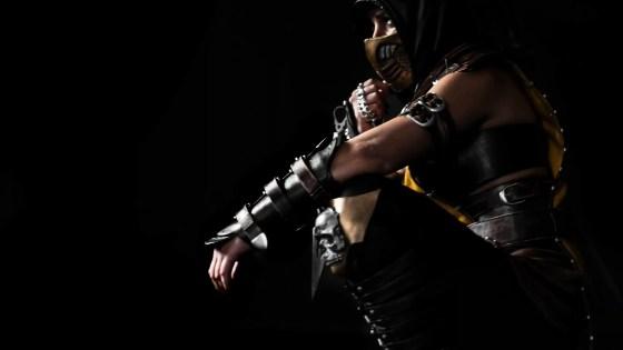 Mortal Kombat: Scorpion cosplay by Yeliz