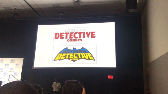 Geg Capullo and DC Comics unveil their new Detective Comics logo.