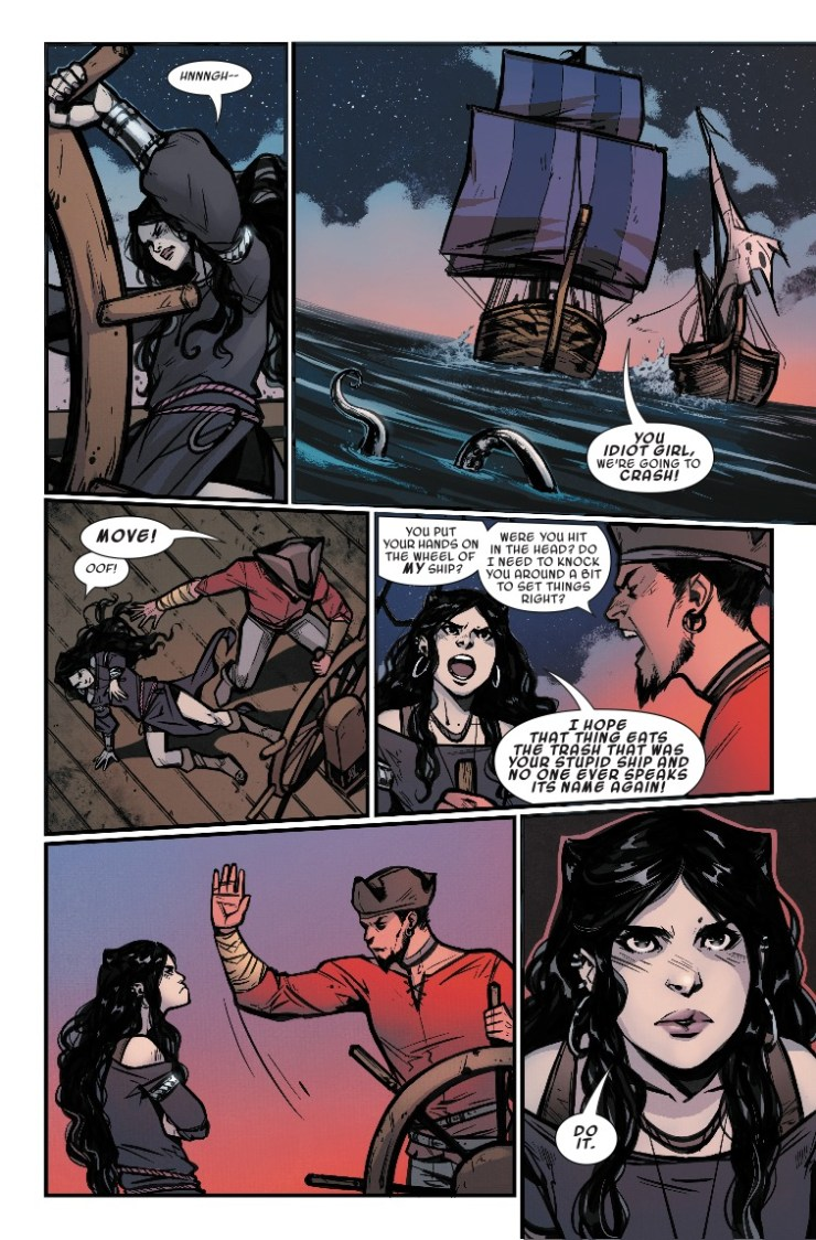 Marvel Preview: Age of Conan: Belit, Queen of the Black Coast #2