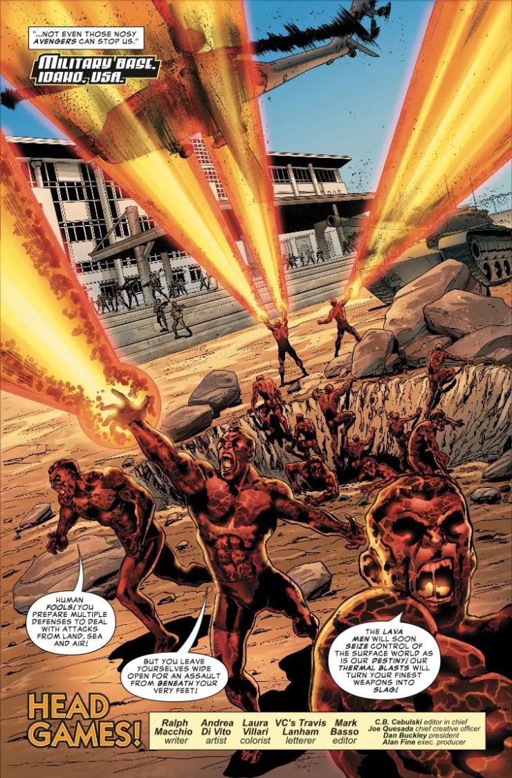 Marvel Preview: Avengers: Edge of Infinity #1