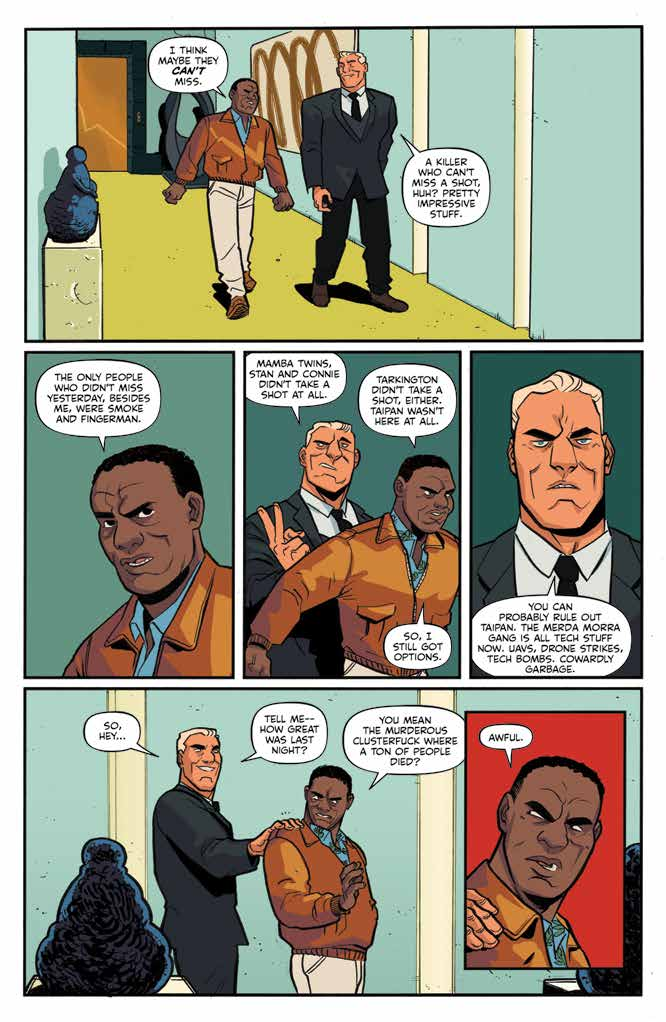 Assassin Nation #2 Review