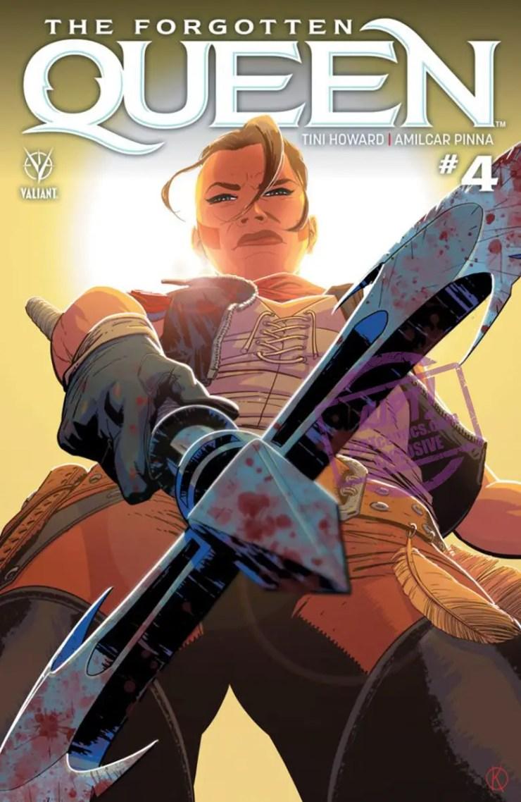 EXCLUSIVE Valiant Preview: The Forgotten Queen #4