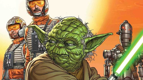 A ONE-SHOT SPECIAL FEATURING YOUR FAVORITE (AND UNEXPECTED) CHARACTERS FROM THE ORIGINAL STAR WARS TRILOGY!