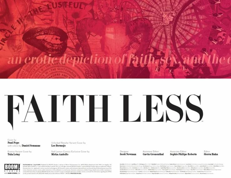 BOOM! Studios Preview: Faithless #1