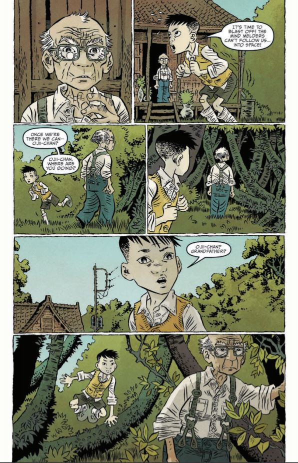 Ghost Tree #1 Review: A new journey at an old home