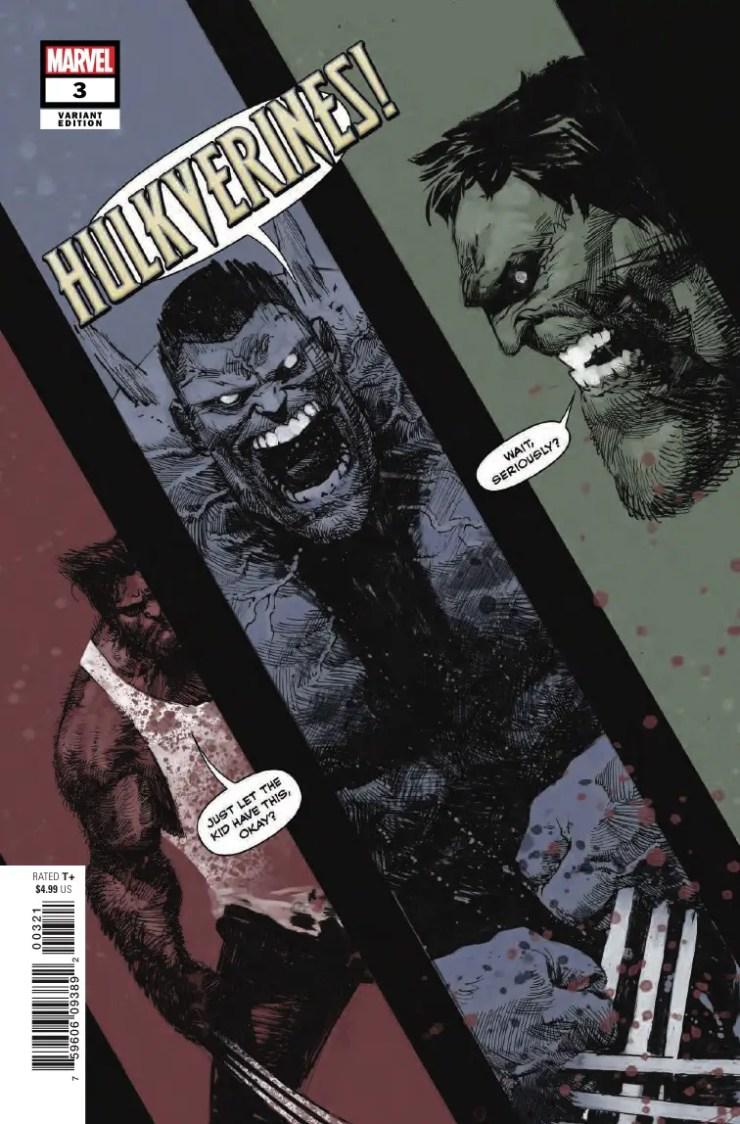 Marvel Preview: Hulkverines #3