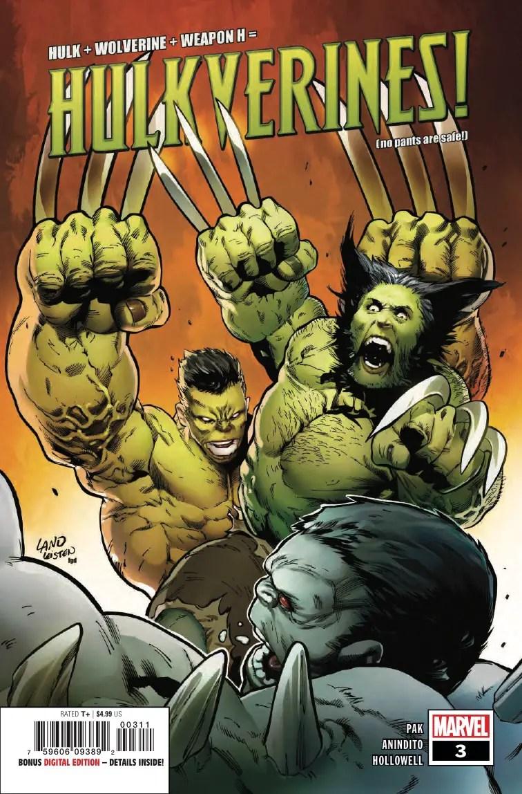 'Hulkverines' TPB Review