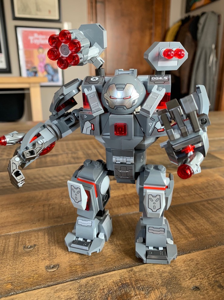 Lego Marvel - Avengers: Endgame - War Machine Hulkbuster Build/Review