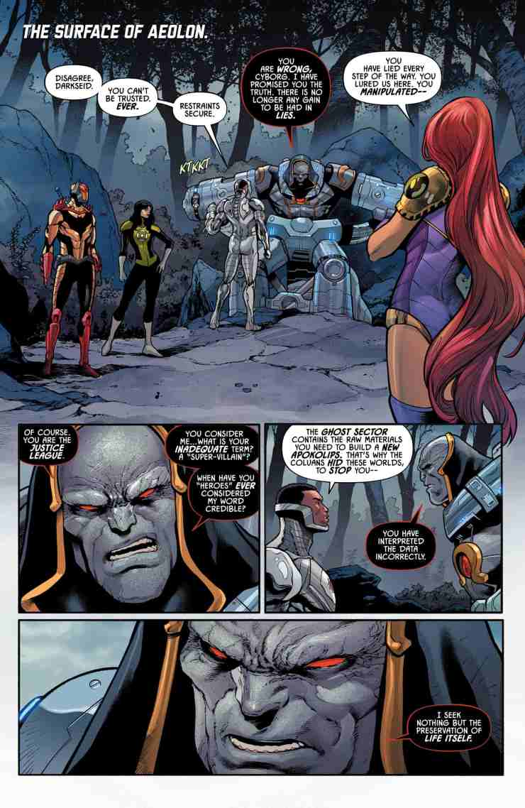 Justice League Odyssey #8 Review