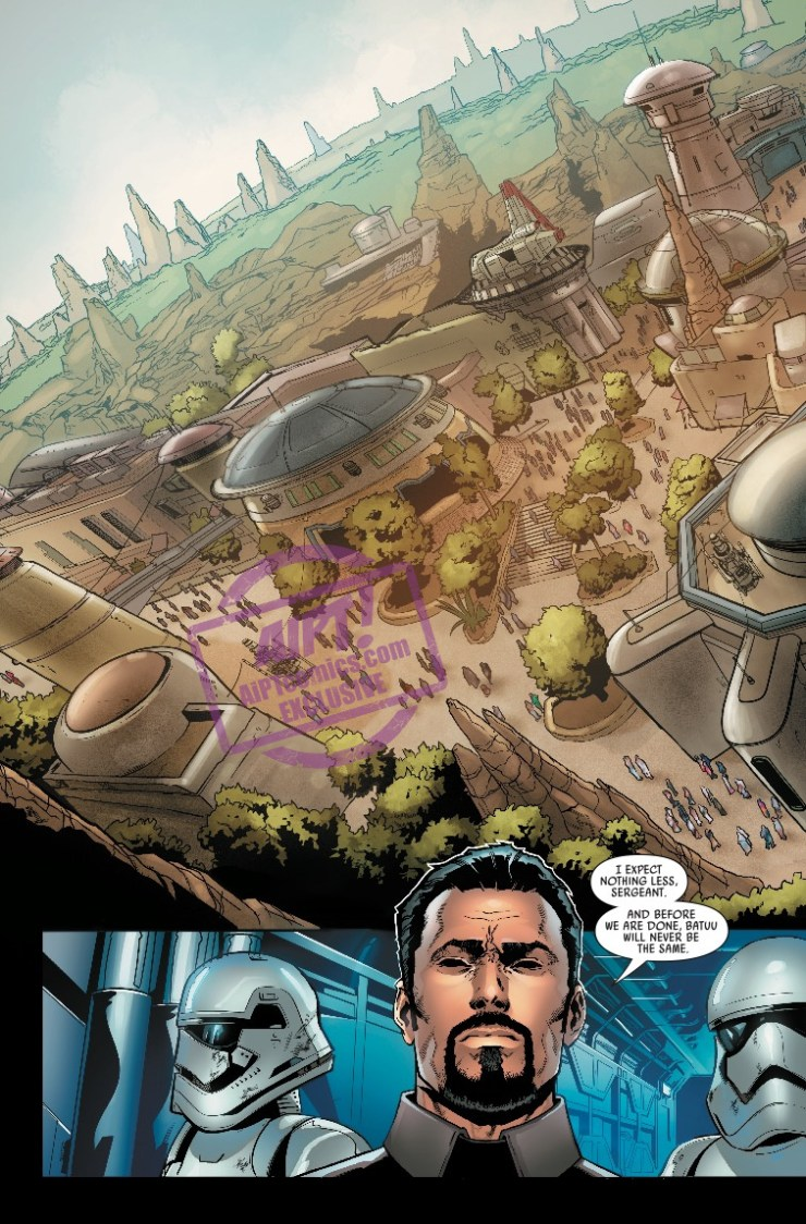 EXCLUSIVE Marvel Preview: Star Wars: Galaxy's Edge #1