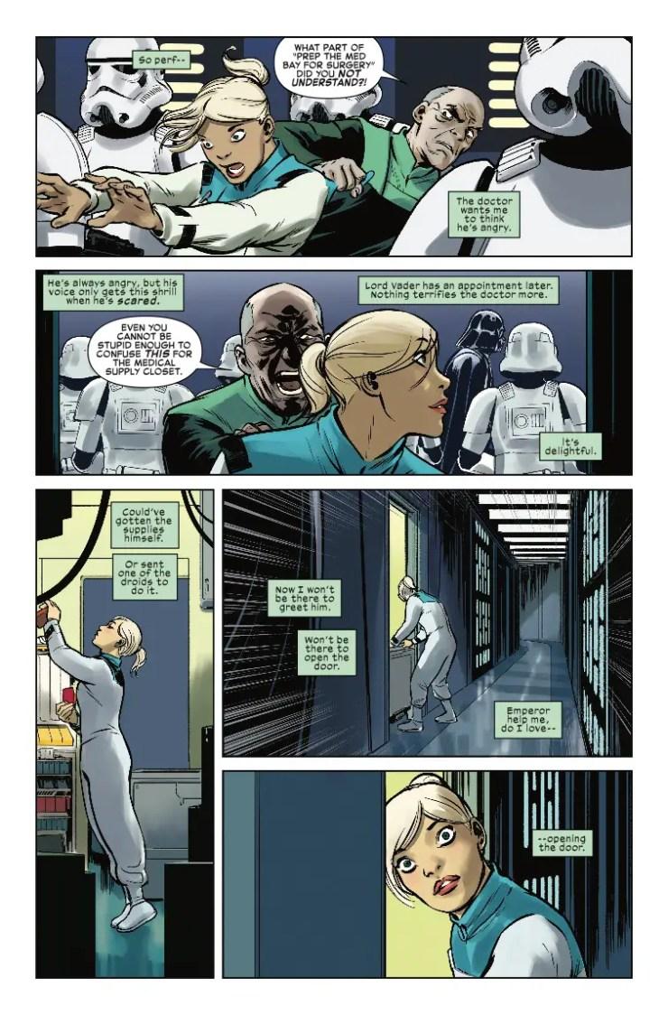 Marvel Preview: Star Wars: Vader - Dark Visions #3