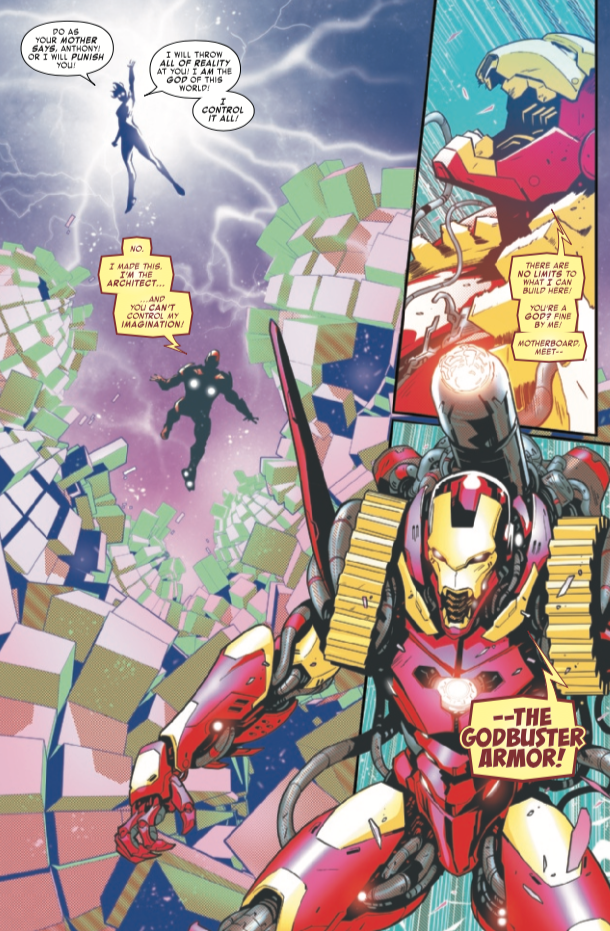 Tony Stark: Iron Man #10 unveils a new armor and it's a familiar one